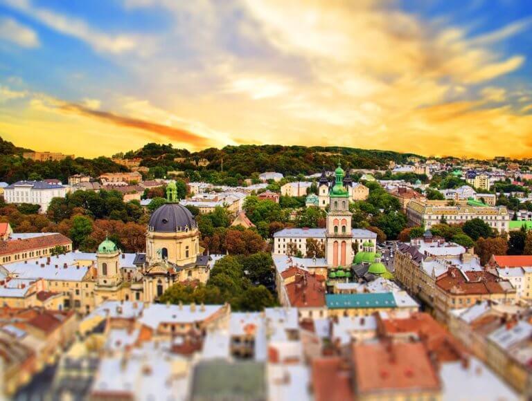 Lviv Skyline