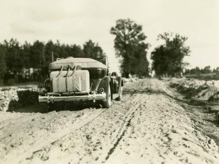 Packard car. September 29, 1934