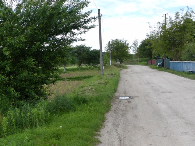 A typical village road