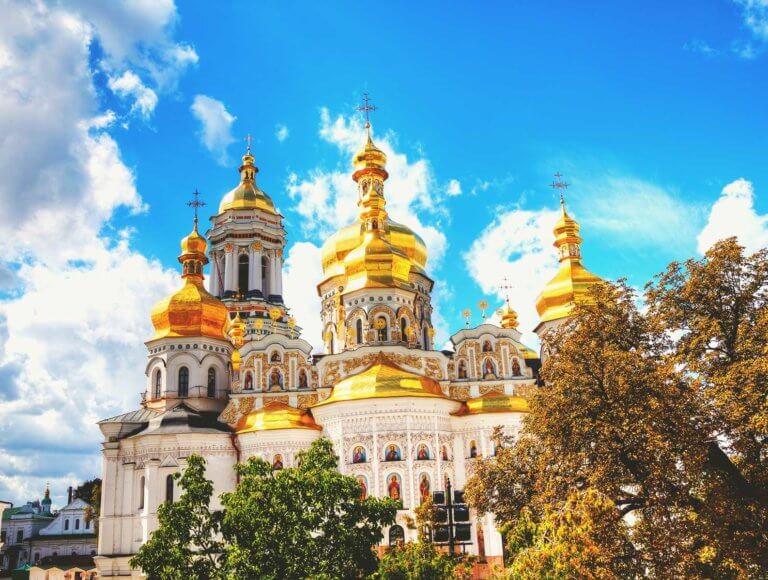 Kiev Pechersk Lavra monastery in Kiev