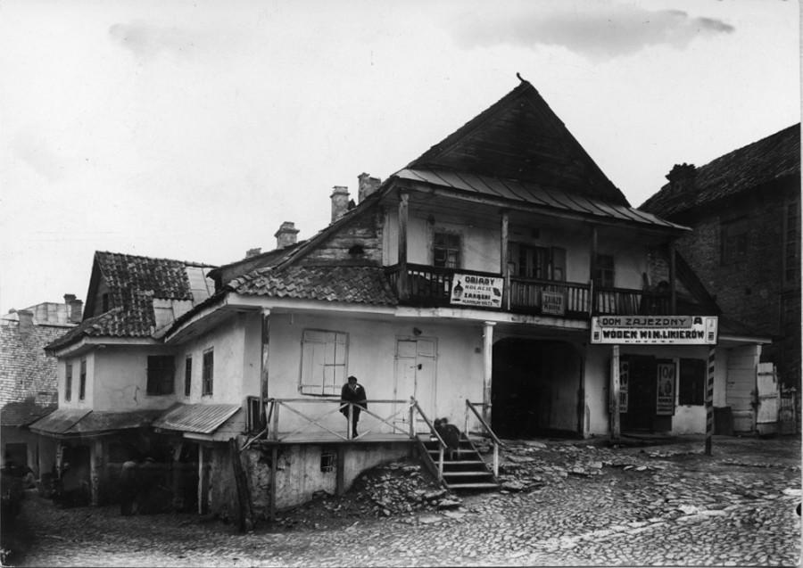 Tavern in Ukrainian village
