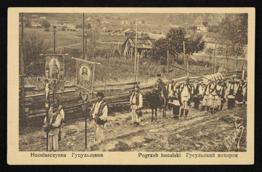 Hutsul funeral procession