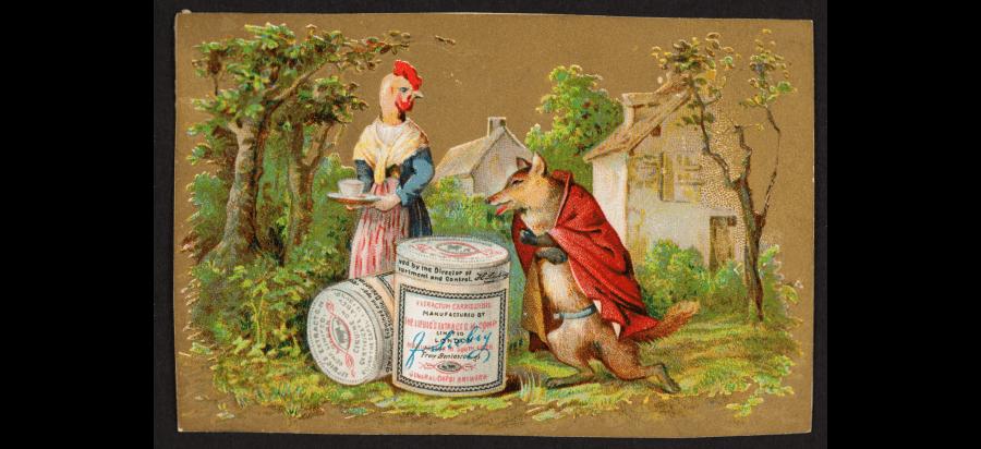Liebig meat extract advertising in Ukraine