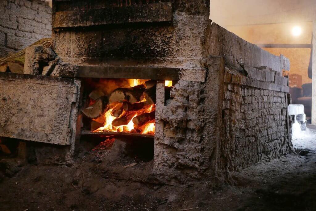 Dhorobych Salt Plant furnace