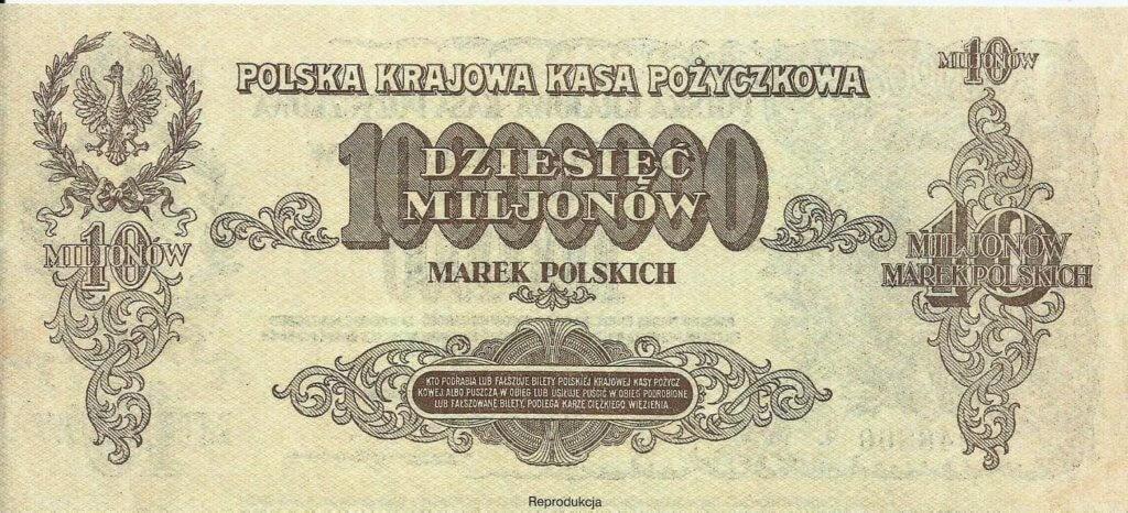 Polish mark 10 million